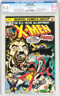Bronze Age (1970-1979):Superhero, X-Men #94 (Marvel, 1975) CGC NM 9.4 White pages....