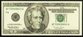 Error Notes:Inking Errors, Fr. 2083-F $20 1996 Federal Reserve Note. Choice Crisp Uncirculated.. ...