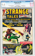 Silver Age (1956-1969):Superhero, Strange Tales #128 (Marvel, 1965) CGC NM 9.4 Off-white to white pages....
