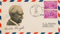 Autographs:Inventors, Orville Wright Signed Cover....