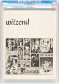 Magazines:Fanzine, Witzend #1 (Wally Wood, 1966) CGC VF/NM 9.0 White pages....