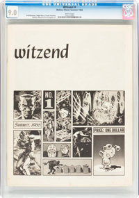 Witzend #1 (Wally Wood, 1966) CGC VF/NM 9.0 White pages