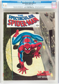 Spectacular Spider-Man #1 (Marvel, 1968) CGC NM+ 9.6 Off-white to white pages