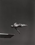 Photographs, John Gutmann (German, 1905-1998). Class, Olympic high diving champion, Marjorie Gestring, San Francisco, 1936. Gelatin s...
