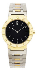 Estate Jewelry:Watches, Bvlgari Gentleman's Gold, Stainless Steel Watch. ...