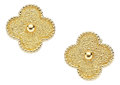 Estate Jewelry:Earrings, Gold Earrings, Van Cleef & Arpels, French. ...