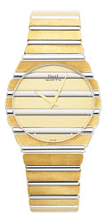 Estate Jewelry:Watches, Piaget Gentleman's Gold Polo Watch. ...