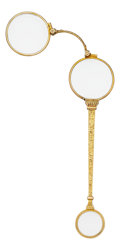 Estate Jewelry:Other , Antique Gold Lorgnette. ...
