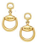 Estate Jewelry:Earrings, Gold Earrings, Gucci. ...