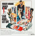 """Movie Posters:James Bond, Live and Let Die (United Artists, 1973). International Six Sheet (77"""" X 78.5"""").. ..."""