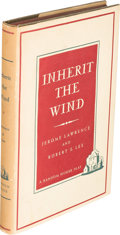Books:Literature 1900-up, Jerome Lawrence and Robert E. Lee. Inherit the Wind. NewYork: Random House, [1955]....