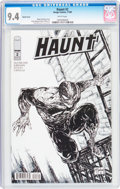 Modern Age (1980-Present):Horror, Haunt #2 Sketch Cover (Image, 2009) CGC NM 9.4 White pages....
