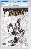 Modern Age (1980-Present):Horror, Haunt #1 Gold Foil Edition (Image, 2009) CGC NM/MT 9.8 Whitepages....