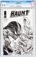 Modern Age (1980-Present):Horror, Haunt #3 Sketch Cover Variant (Image, 2009) CGC NM/MT 9.8 Whitepages....