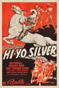 "Movie Posters:Serial, Hi-Yo Silver (Republic, 1940). One Sheet (27"" X 41"").. ..."