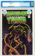 Bronze Age (1970-1979):Horror, Swamp Thing #8 (DC, 1974) CGC NM 9.4 White pages....