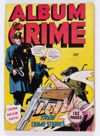 Fox Giants Album of Crime #nn (Fox Features Syndicate, 1949) Condition: VG