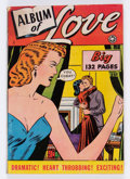 Golden Age (1938-1955):Romance, Fox Giants Album of Love #nn (Fox Features Syndicate, 1949)Condition: VG+....