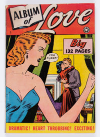Fox Giants Album of Love #nn (Fox Features Syndicate, 1949) Condition: VG+