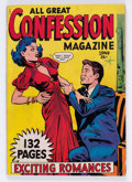Golden Age (1938-1955):Romance, Fox Giants All Great Confession Magazine (Fox Features Syndicate,1949) Condition: Apparent VG-....