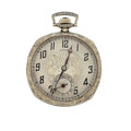Timepieces:Pocket (post 1900), Admiral (Swiss) 6 Jewel Open Face Pocket Watch. ...