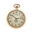 Timepieces:Pocket (post 1900), Illinois Rotating Sector Dial 19 Jewel Open Face Pocket Watch . ...