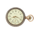 Timepieces:Pocket (post 1900), The Nassau 18 Size Open Face Pocket Watch. ...