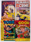 Fox Giants Group of 5 (Fox Features Syndicate, 1944-50) Condition: Average GD+.... (Total: 5 Comic Books)
