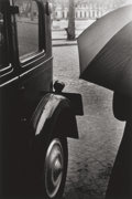 Photographs, Ralph Gibson (American, b. 1939). Umbrella and Car, 1954. Gelatin silver, 1986. 18 x 11-7/8 inches (45.7 x 30.2 cm). Sig...