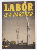 Golden Age (1938-1955):Non-Fiction, Labor Is A Partner #nn (Catechetical Guild, 1949) Condition:FN+....