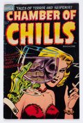 Golden Age (1938-1955):Horror, Chamber of Chills #19 (Harvey, 1953) Condition: VG/FN....