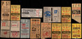Baseball Collectibles:Tickets, 1947-73 New York Yankees Ticket Stubs Lot of 14....
