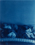 Photographs:Cyanotype, John Dugdale (American, b. 1960). The Sisters Sleep LovinglySide-By-Side, 2000. Cyanotype. 13-3/8 x 10-3/8 inches (34.0...
