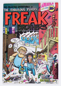 The Fabulous Furry Freak Brothers #1 Second Printing - Haight-Ashbury Collection Pedigree (Rip Off Press, 1971) Conditio...