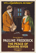 "Movie Posters:Drama, The Peace of Roaring River (Goldwyn, 1919). One Sheet (28"" X 41"")....."