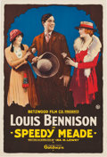 "Movie Posters:Western, Speedy Meade (Goldwyn, 1919). One Sheet (28"" X 41"").. ..."