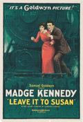 "Movie Posters:Comedy, Leave It to Susan (Goldwyn, 1919). One Sheet (28"" X 41"").. ..."