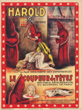 "Movie Posters:Miscellaneous, Harold Presents Le Coupeur de Tetes (1920s). French Grande (47"" X63"").. ..."