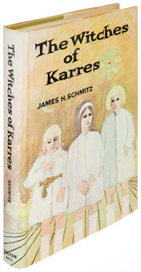 James H. Schmitz. The Witches of Karres. Philadelphia and New York: 1966. First edition