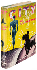 Books:Science Fiction & Fantasy, Clifford Simak. City. [New York]: 1952. First edition withpostcard from the author laid in....