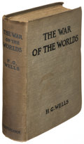 Books:Science Fiction & Fantasy, H. G. Wells. The War of the Worlds. London: 1898. Firstedition....