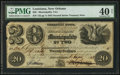 Obsoletes By State:Louisiana, New Orleans, LA-Municipality No. Two $20 Aug. 1, 1843. ...
