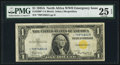 Small Size:World War II Emergency Notes, Fr. 2306* $1 1935A North Africa Silver Certificate Star. PMG Very Fine 25 EPQ.. ...