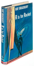 Books:Science Fiction & Fantasy, Ray Bradbury. R Is for Rocket. Garden City: [1962]. Firstedition, inscribed....
