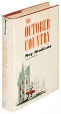Books:Science Fiction & Fantasy, Ray Bradbury. The October Country. New York: [1955]. Firstedition....