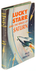Books:Science Fiction & Fantasy, [Isaac Asimov]. Lucky Starr and the Rings of Saturn. GardenCity: 1958. First edition....