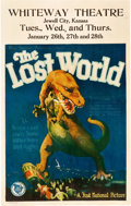 "Movie Posters:Science Fiction, The Lost World (First National, 1925). Window Card (14"" X 22"")....."