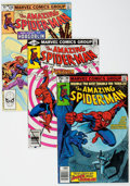 Modern Age (1980-Present):Superhero, The Amazing Spider-Man Box Lot (Marvel, 1980-97) Condition: AverageNM....