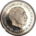 Spain, Spain: Republic Proof 50 Pesetas 1957 (1964) PR69 Ultra CameoNGC,...