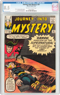 Silver Age (1956-1969):Superhero, Journey Into Mystery #91 (Marvel, 1963) CGC VF+ 8.5 Off-white to white pages....